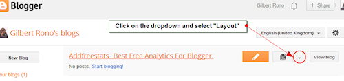 AddFreeStats on Blogger