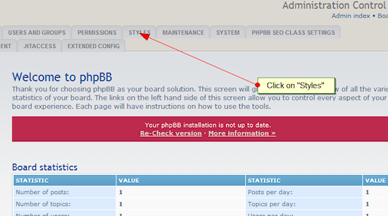 phpbb website analyzer tool