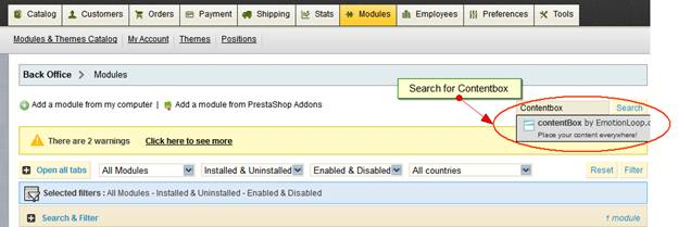 Prestashop store traffic analyzer tool
