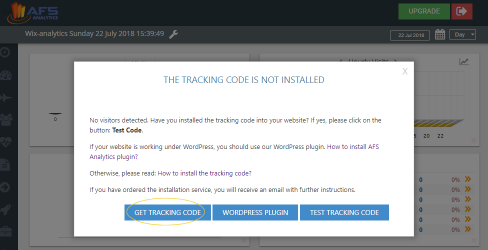 get tracking code
