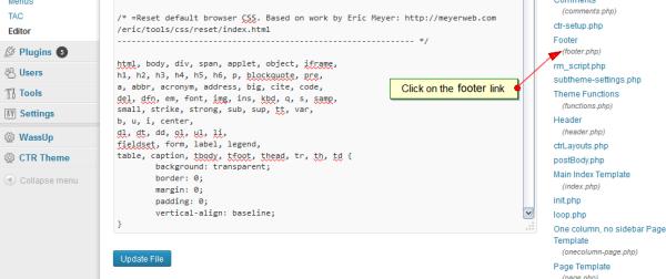 Wordpress traffic Analytics